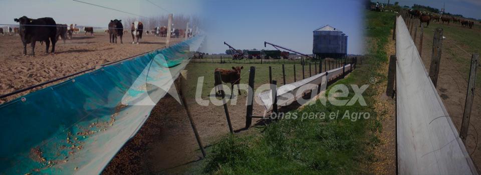Comederos para hacienda - Lonas Alex